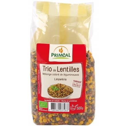 Trio de Lentilles