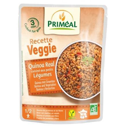 Le Petit Veggie Qionoa aux Petits Légumes