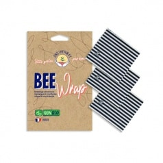 Bee Wrap 3x Taille S (18x20cm)