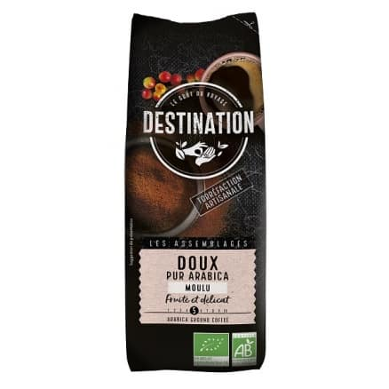 Destination Café moulu Doux & Digeste bio n°12