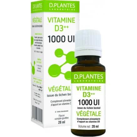 Vitamine D3 1000 Végétale
