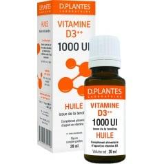 Vitamine D3 1000 Huile