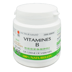 Vitamines B 100% naturelles