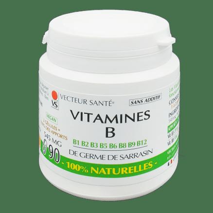 Vitamines B 100% naturelles
