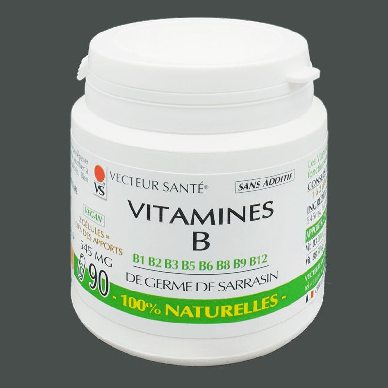 vecteur sante  Vecteur Santé Vitamines B 100% naturelles x90 Les VITAMINES... par LeGuide.com Publicité