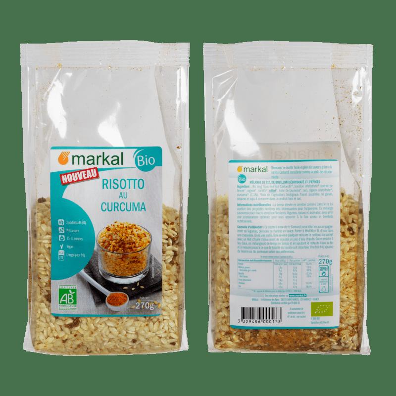 markal  Markal Risotto Au Curcuma 270 g Découvrez ce risotto facile et... par LeGuide.com Publicité