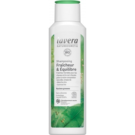 Shampooing Fraîcheur & Anti-cheveux gras Lavera
