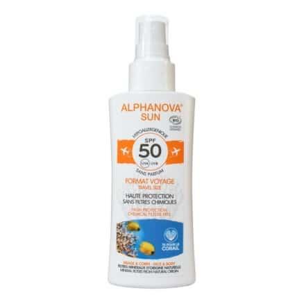 Spray Solaire Hypoallergénique SPF50