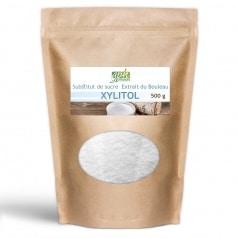 Poudre de Xylitol extrait d'écorce bouleau 500 g