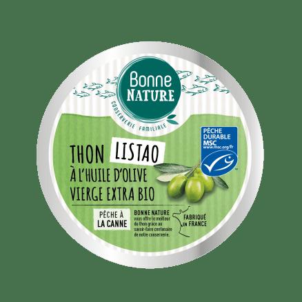 Thon Listao à l'Huile d'Olive Vierge Extra Bio
