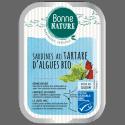 Sardines au Tartare d'Algues Bio