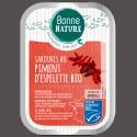 Sardines au Piment d'Espelette Bio