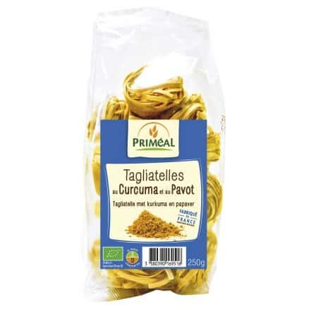 Tagliatelles Curcuma & Pavot