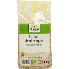 Riz Rond Demi-Complet