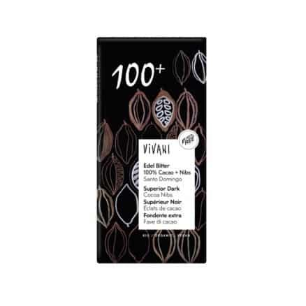 Chocolat Supérieur Noir Éclats de Cacao