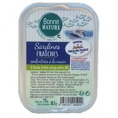 Sardines Fraîches Emboîtées à la Main