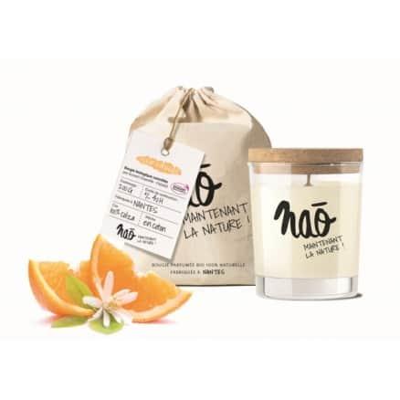 Bougie parfumée Fleur d'oranger - Nao