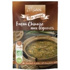 Ma soupe façon Chinoise aux légumes