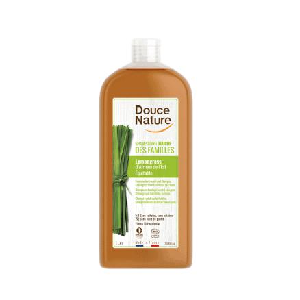 Shampooing Douche des Familles Lemongrass