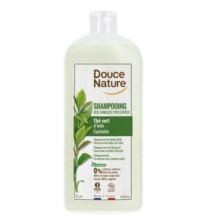 Shampooing des Familles Thé Vert