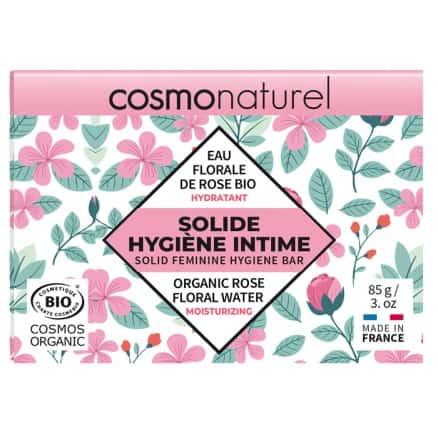 Solide Hygiène Intime Eau florale rose