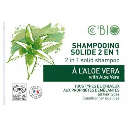 Shampooing Solide 2 en 1 à Aloe Vera