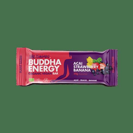 Barre Bouddha Energie Açai Banane Fraise