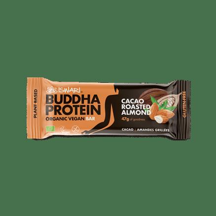 Barre Bouddha Protéine Cacao Amandes Grillées