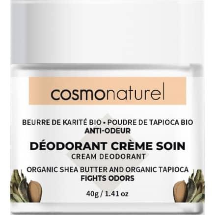 Déodorant Crème - Beurre de Karité, Poudre de Tapioca