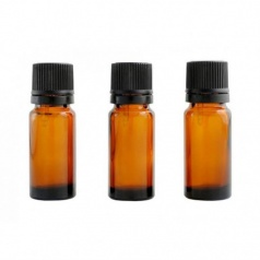 Lot 3 Flacons 10ml Ambre Codi