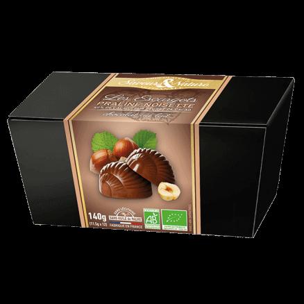 Les Escargots Praliné Noisette Chocolat au Lait