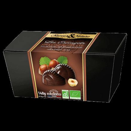 Les Escargots Praliné Noisette Chocolat Noir