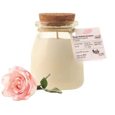 Bougie parfumée Rose
