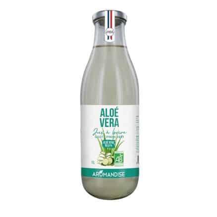 Jus Aloe Vera Citron Vert à Boire
