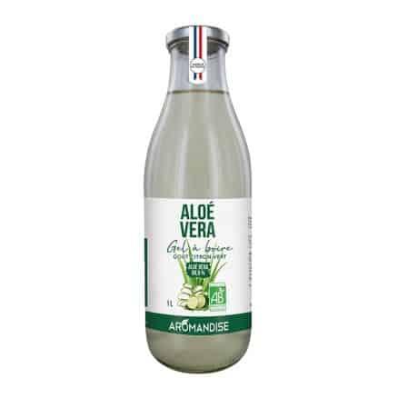 Gel Aloe Vera Citron Vert 99.6% à Boire