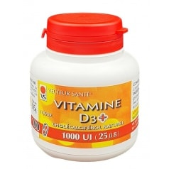 Vitamine D3+ 1000UI
