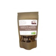 Shiitakés Séchés en Lamelles