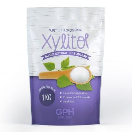 Xylitol extrait d'écorce de bouleau 1 kg