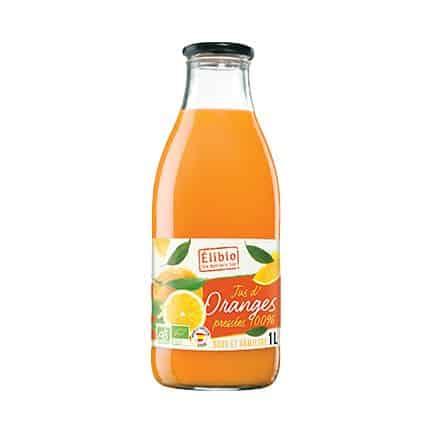 Jus d'orange 100% fruits pressés