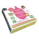 3 Colorants Alimentaires Rose Jaune Vert