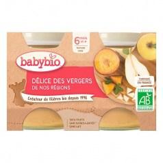 Petit pot bio Délice de fruits babybio