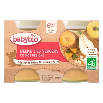 Petit pot bio Délice de fruits babybio