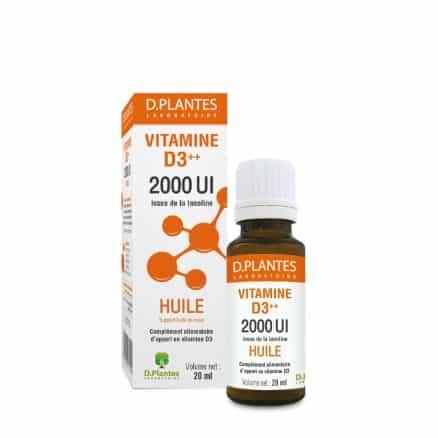 Vitamine D3++ 2000UI Huile