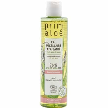 Eau Micellaire Apaisante 76% d'Aloe Vera