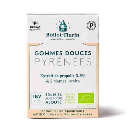 Gommes Douces Pyrénées Propolis