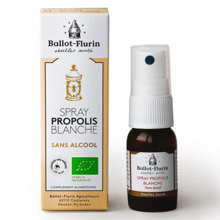 Spray Propolis Blanche Sans Alcool