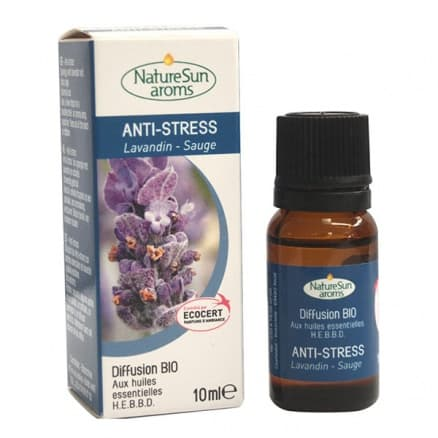 Diffusion Anti-Stress Lavandin Sauge 10ml NatureSun'aroms