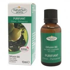 Diffusion Purifiant Citron & Palmarosa NatureSun'aroms