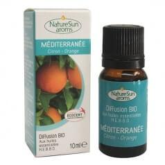 Diffusion Méditerranée Citron Orange