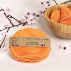Disques Démaquillants Lavables Orange